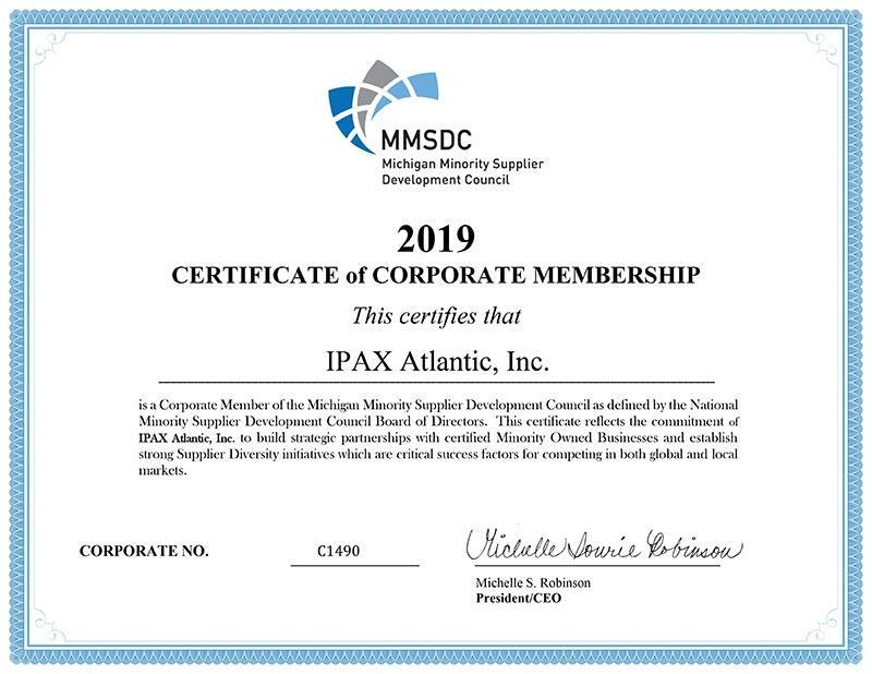 mmsdc certificate